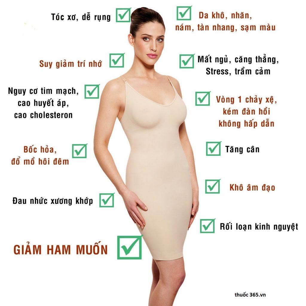 suy giảm nội tiết tố ở phụ nữ tiền mãn kinh, mãn kinh